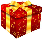 Red giftbox Royalty Free Stock Photo