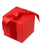 Red Giftbox Royalty Free Stock Photos