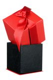 Red Giftbox Stock Image