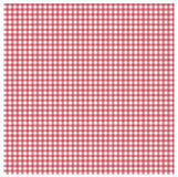 Red gingham. Seamless red gingham design for table cloths Royalty Free Stock Photography