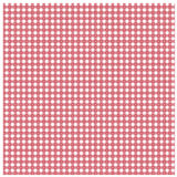 Red gingham with star pattern. Red gingham design with white star pattern Royalty Free Stock Photography