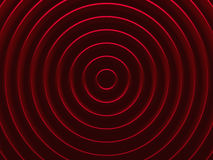 Red glamour vortex. Abstract pattern. For web template background, brochure cover or app. Material style. Geometric 3D illustration Stock Image