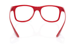 Red glases on white Royalty Free Stock Image