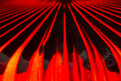 Red Glass Abstract Stock Image
