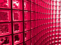 Red Glass Block Stock Images