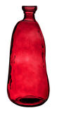 Red Glass Bottle Stock Image