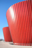 Red glass building Royalty Free Stock Photos
