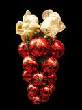 Red Glass Christmas Decoration Stock Images