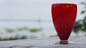 Red glass Royalty Free Stock Image