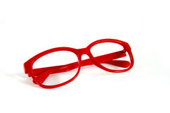 Red Glasses Stock Photos