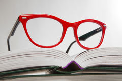 Red glasses Royalty Free Stock Photo