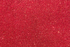 Red glitter background Stock Image