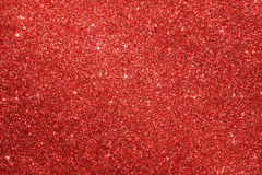 Red glitter background. Red glitter christmas background with copy space Royalty Free Stock Photos