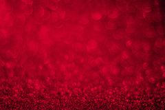 Red glitter background, Valentine`s Day Royalty Free Stock Image