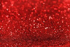 Red glitter background Stock Photography