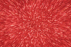 Red glitter explosion lights abstract background Royalty Free Stock Photo