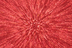 Red glitter explosion lights abstract background Stock Photos