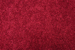 Red glitter foam sheet texture Stock Photos