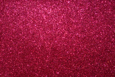 Red glitter paper background Stock Images