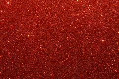 Red glitter paper texture. Red sparkling glitter paper texture stock images