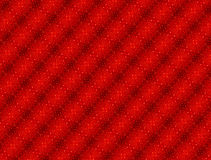 Red glitter patterned background - ideal Christmas etc Stock Image