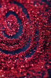 Red glitter and sparkles Stock Photos