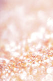 Red glitter and sparkles Stock Images