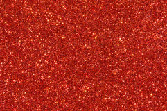 Red glitter texture background Royalty Free Stock Photos