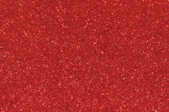 Red glitter texture background Stock Images
