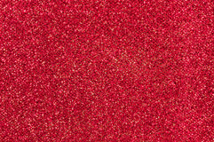 Red glitter texture background Stock Photos