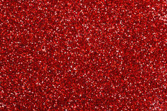 Red glitter texture Stock Photos