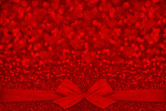 Red glitter texture Valentine's day background Stock Photo