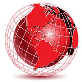 Red Globe Stock Photos