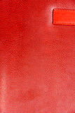 Red Glossy Faux Leather Background Texture. Picture of red Glossy Faux Leather Background Texture Royalty Free Stock Photos
