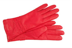 Red Glove Stock Photography