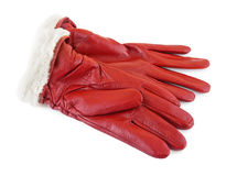 Red gloves Stock Photos