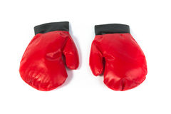 Red Gloves Royalty Free Stock Photo