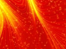 Red glow background Stock Photos