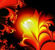 Red glow plant stock photos