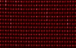 Red Glowing Dots Royalty Free Stock Images