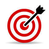 Aim goal icon Royalty Free Stock Photo