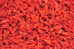 red goji berries Stock Photo
