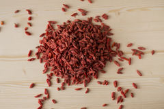 Red Goji berries Stock Photos