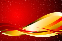 Red and Gold Stock Photography