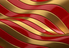 Red and gold abstract  texture Royalty Free Stock Photography
