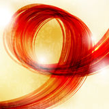 Red gold background Stock Image