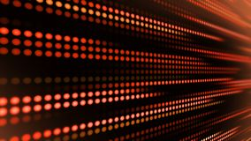 Red gold background of random dots, geometric circles, shapes. stock footage