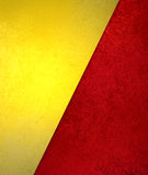 Red and gold background with texture Royalty Free Stock Image
