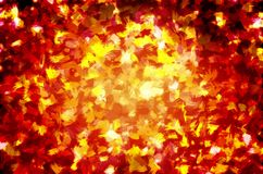 Red and gold background Royalty Free Stock Images