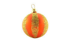 Red and Gold Christmas Bauble Stock Photos
